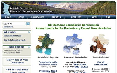 BC Electoral Boundaries Commission