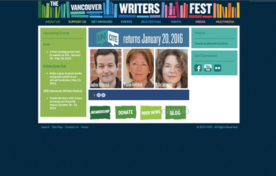 Vancouver International Writers' Fest