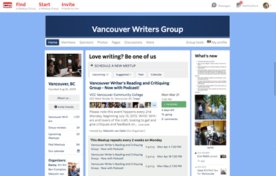 Vancouver Writers Group